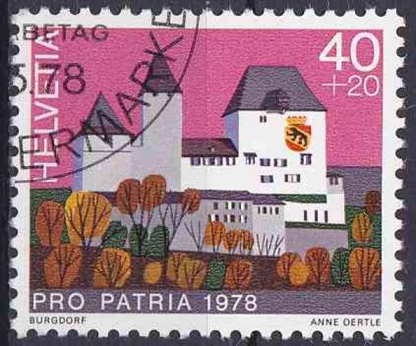 Suisse 1978 oblitéré n° 1061