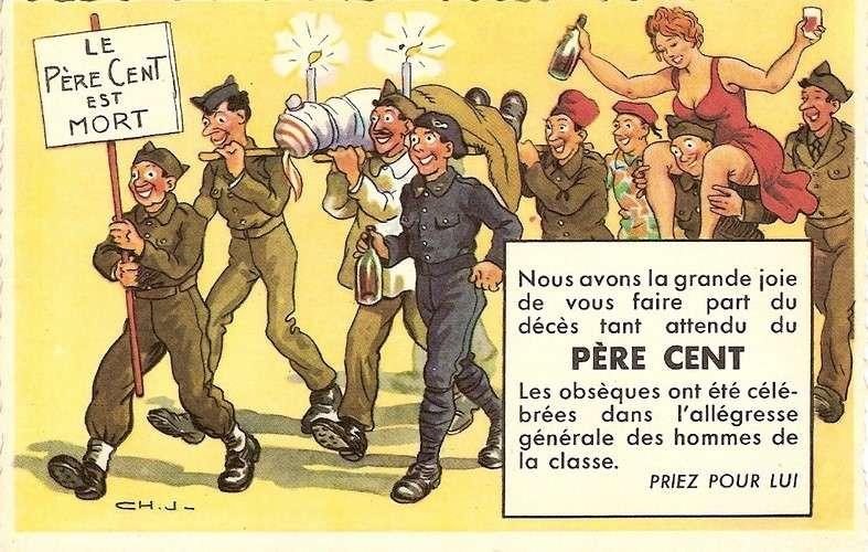 Chaperon - Militaire - Quille - Père Cent - Série 1118