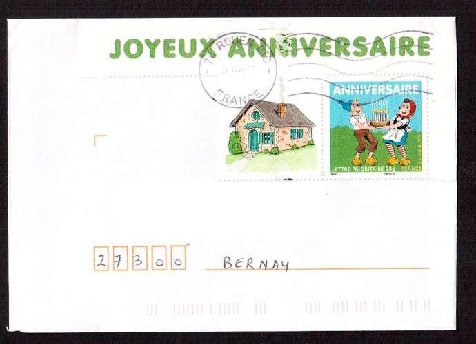 France 2007 Bloc Feuillet Y T 112 O Joyeux Anniversaire Sylvain Et
