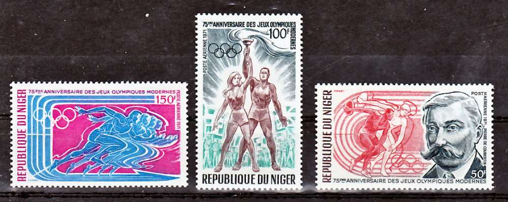 Niger PA 159 161 Jeux Olympiques Modernes neuf ** TB MNH cote 5.75