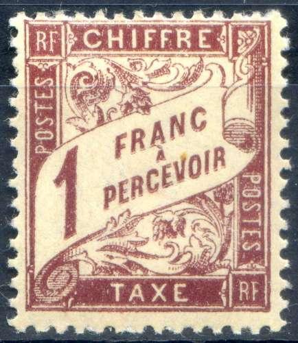 FRANCE  -        N°  40A  **  _   Cote  :  2,50  €
