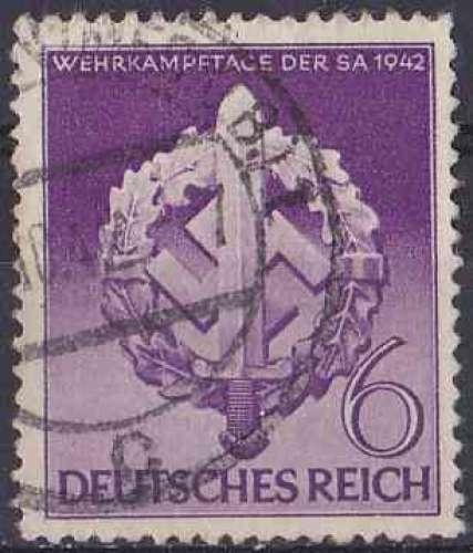 Allemagne Reich 1942 oblitéré n° 742