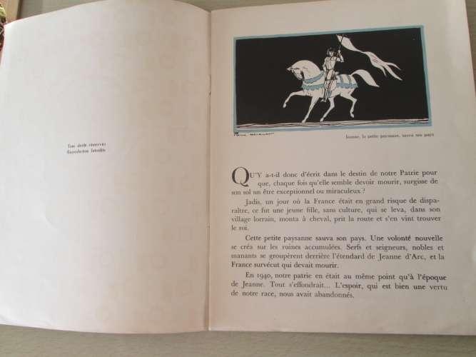 La vie d'honneur du Maréchal Pétain  Racontée et illustrée pour les jeunes Français  Texte et illust