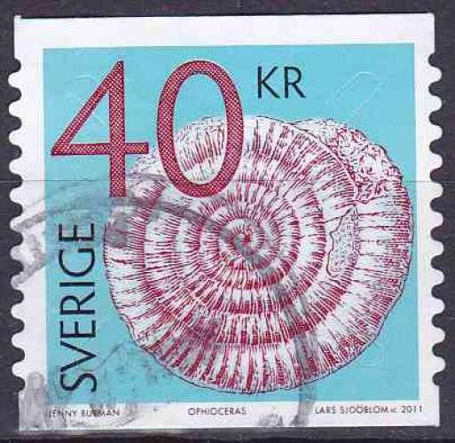 Suède 2011 oblitéré n° 2784