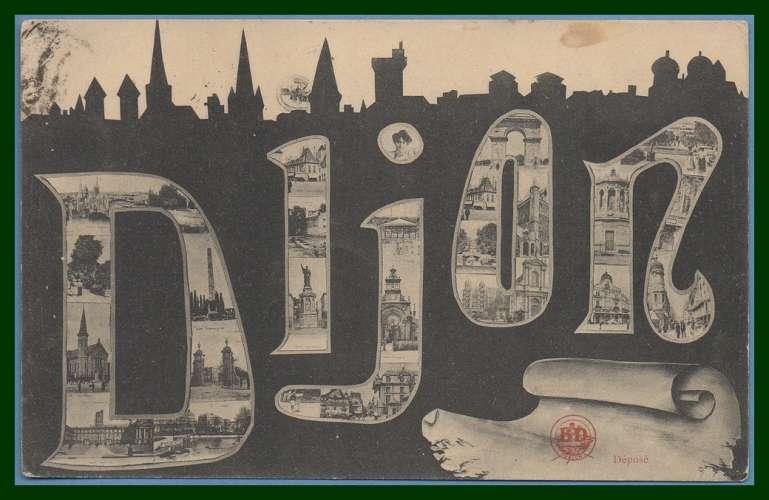 CPA DIJON voy 1904