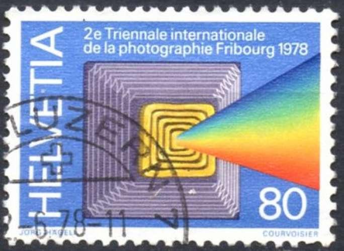 8338N - Y&T n° 1049 - oblitéré - Triennale de la photographie à Fribourg - 1978 - Suisse