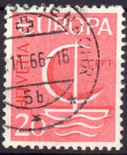 8406N - Y&T n° 776 - oblitéré - Europa - 1966 - Suisse