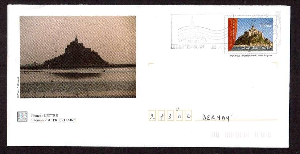 France 2006 PAP Y&T 3924-E2 Mont-Saint-Michel  circulé