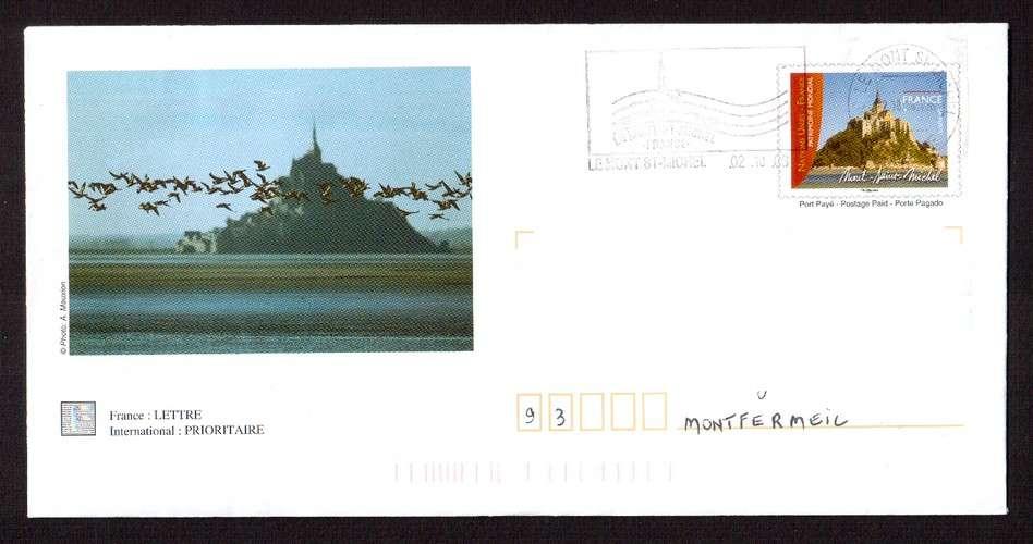 France 2006 PAP Y&T 3924-E5 Mont-Saint-Michel  circulé