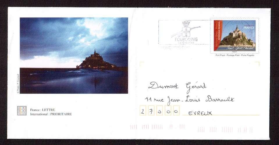 France 2006 PAP Y&T 3924-E3 Mont-Saint-Michel  circulé