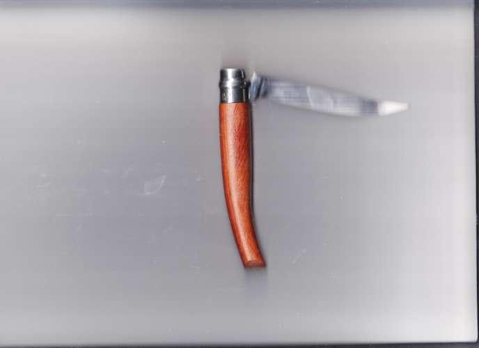 Véritable couteau Opinel n°10 Effilé - manche Bubinga naturel
