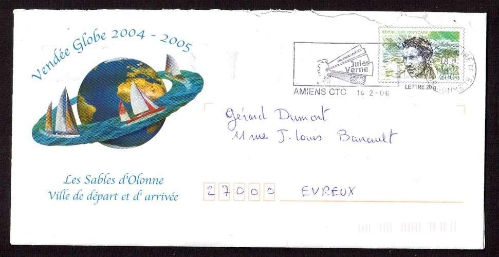 France 2004 PAP Y&T 2913-E2 Vendée Globe 2004-2005 les Sables d'Olonne ville de départ et d'arrivée