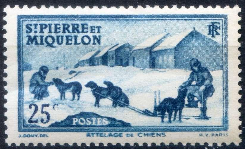 SAINT-PIERRE ET MIQUELON  _ Y & T  N°  174  **   -    Cote  :   3,90  €