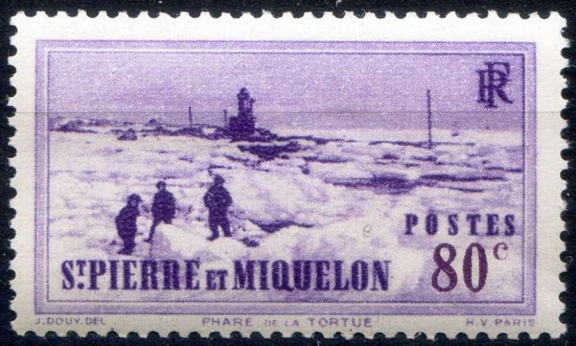 SAINT-PIERRE ET MIQUELON  _ Y & T  N°  180  *    -   Cote  :   1,80  €