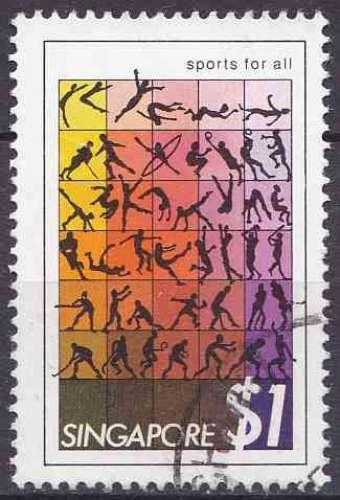 SINGAPOUR 1981 oblitéré N° 375