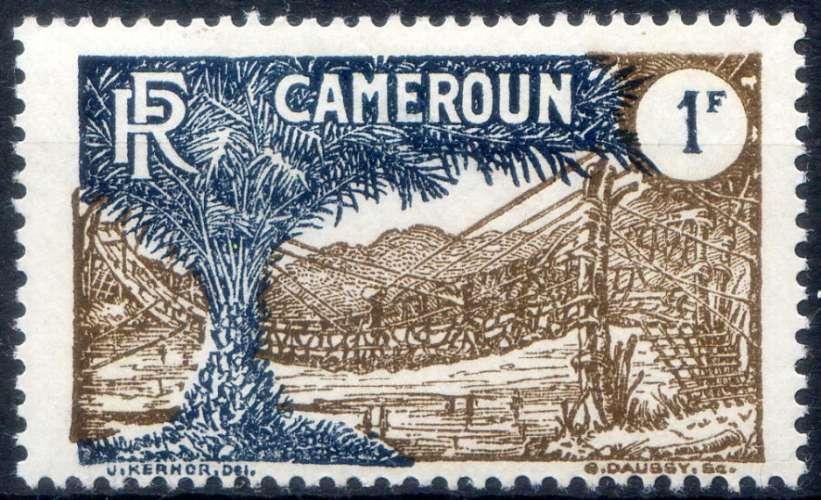 CAMEROUN  _ Y & T   N°  126  **   -     Cote  :  1,55  €