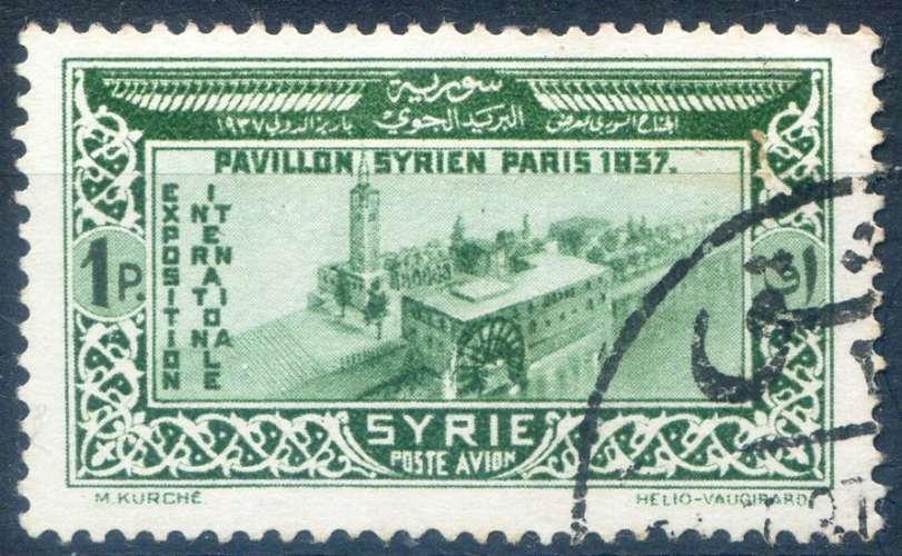 SYRIE  _  Y & T  _    PA  N°   71  (o)  -     Cote  :   2,90  €