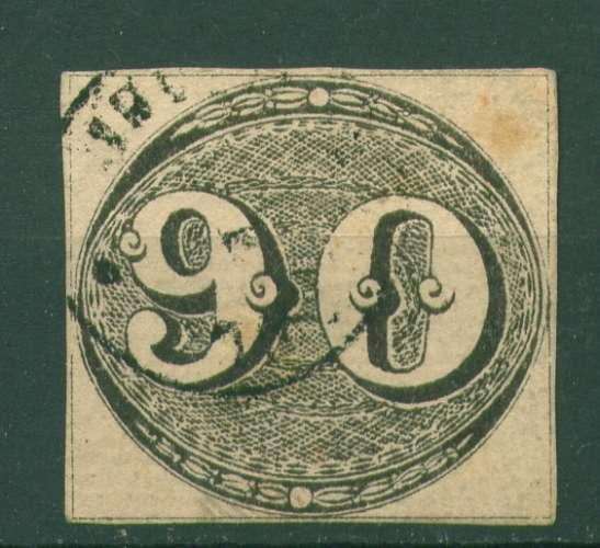 BRESIL  oblitéré N° 3  ( cote 1400,00€)