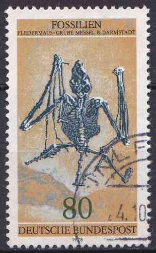 ALLEMAGNE RFA 1978 OBLITERE N° 821
