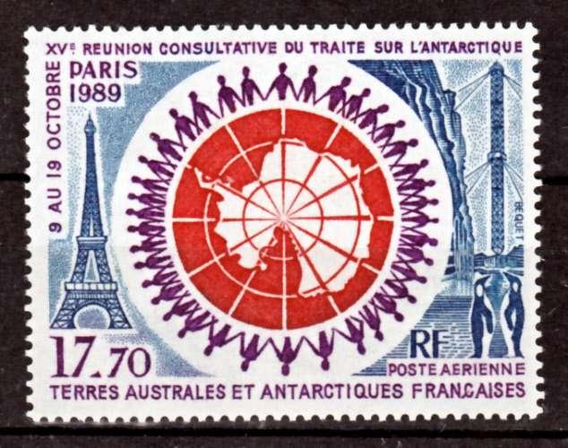 TAAF PA 109 1989 traite sur l´Antarctique neuf ** TB MNH prix de la poste 2.7 e