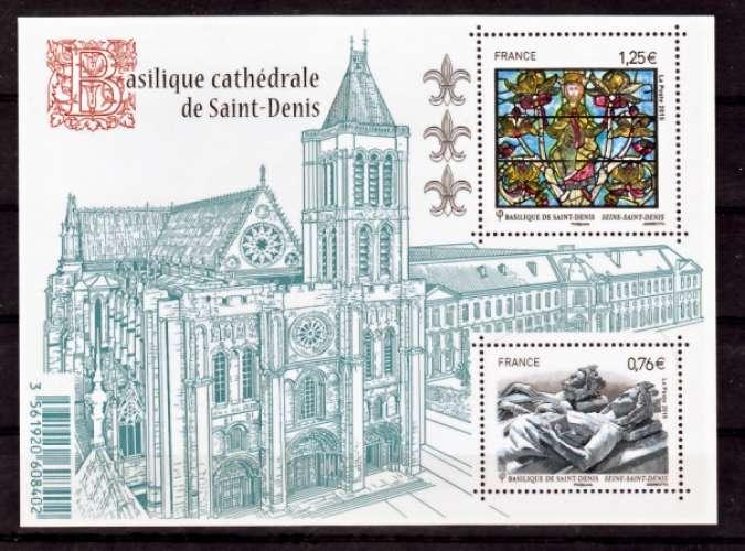 France 4930 4931 Saint Denis   neuf **TB MNH sin charnela prix de la poste 2.01