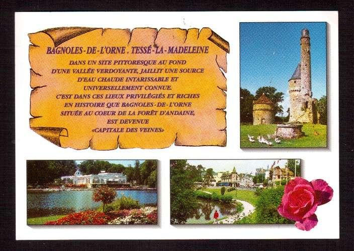 France 2004 Y&T 3651 (o) les huîtres 0,50€ du bloc 68 La France à Vivre sur CP Bagnoles de l'Orne