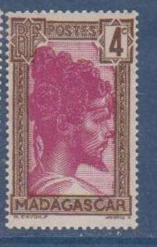 MADAGASCAR          N°  163    NEUF SANS CHARNIERE     (02/16 )
