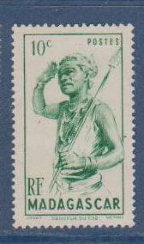 MADAGASCAR          N°  300   NEUF SANS CHARNIERE     (02/16 )
