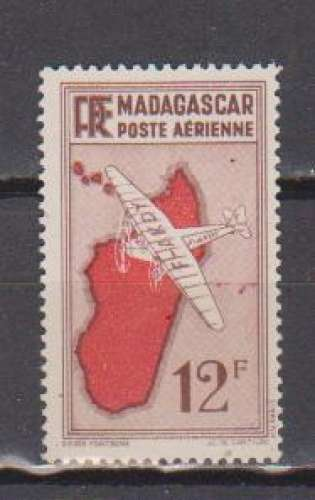 MADAGASCAR          N°  PA 10   NEUF SANS CHARNIERE     (02/16 )