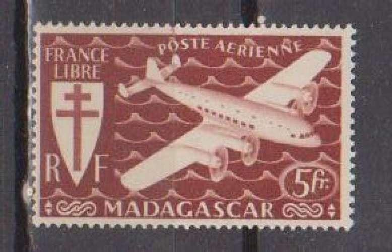 MADAGASCAR          N°  PA 57  NEUF SANS CHARNIERE     (02/16 )