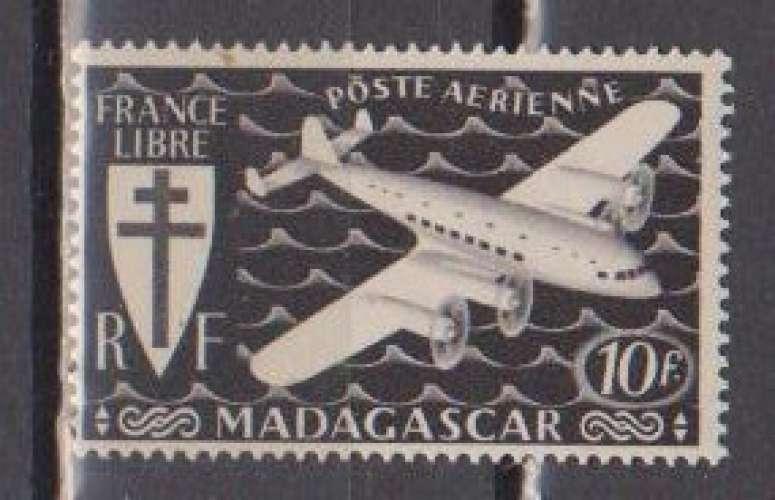 MADAGASCAR          N°  PA 58  NEUF SANS CHARNIERE     (02/16 )