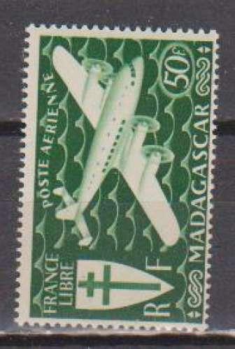 MADAGASCAR          N°  PA 60  NEUF SANS CHARNIERE     (02/16 )