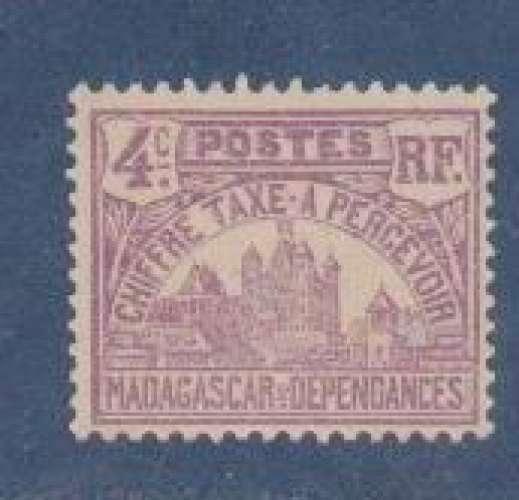 MADAGASCAR          N°  TAXE 9    NEUF SANS CHARNIERE     (02/16 )