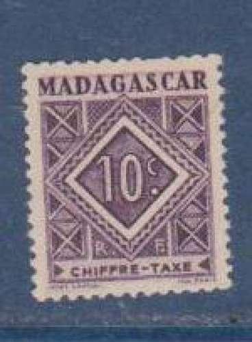 MADAGASCAR          N°  TAXE   31    NEUF SANS CHARNIERE     (02/16 )