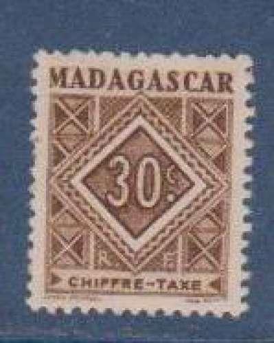MADAGASCAR          N°  TAXE   32    NEUF SANS CHARNIERE     (02/16 )