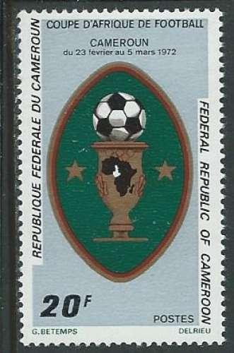 Cameroun - Y&T 0512 (**) - Football -