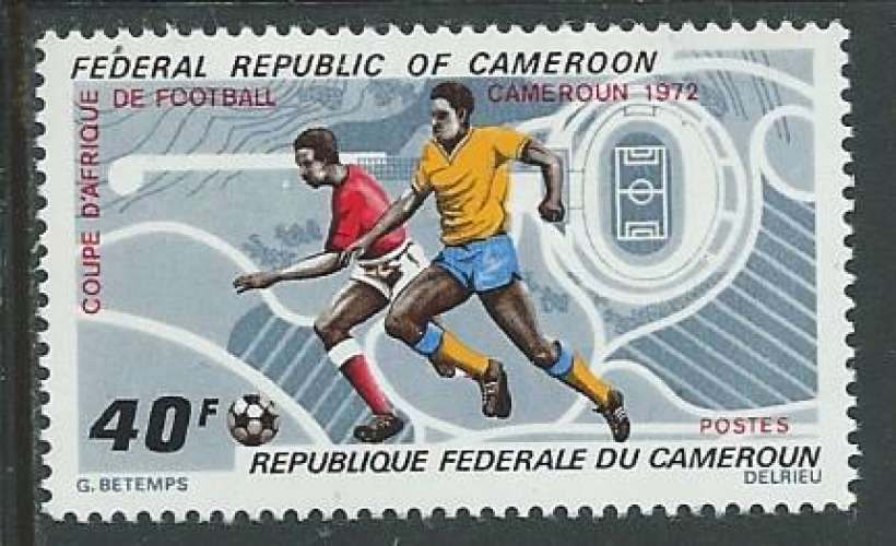 Cameroun - Y&T 0513 (**) - Football -