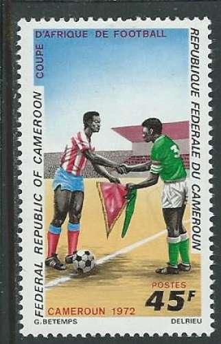 Cameroun - Y&T 0514 (**) - Football -