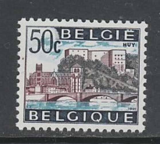 TIMBRE NEUF DE BELGIQUE - SERIE TOURISTIQUE : HUY N° Y&T 1352