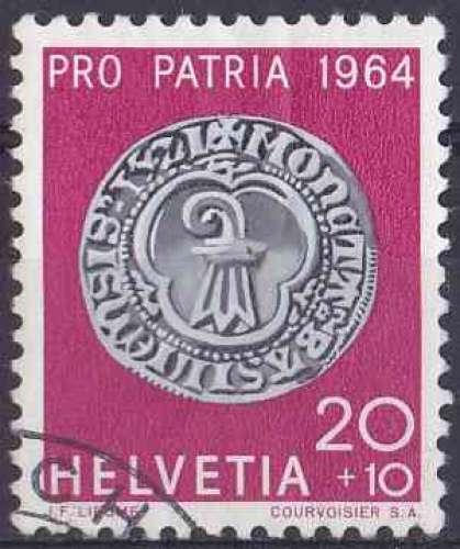 SUISSE 1964 OBLITERE N° 732