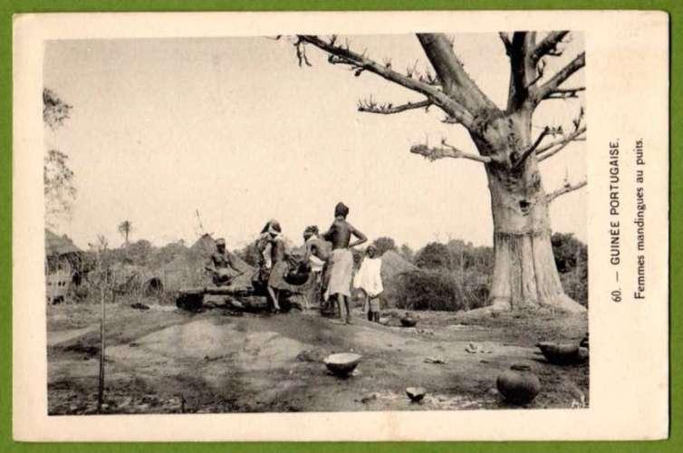 GUINÉ GUINÉE PORTUGAISE (Guinea Bissau) - Femmes mandingues au puits