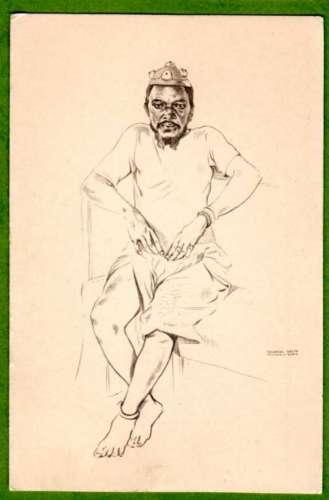Angola Cancangue Muenegungo Quipungo - Portugal 1937 exposition de Paris - Dessin de Eduardo Malta