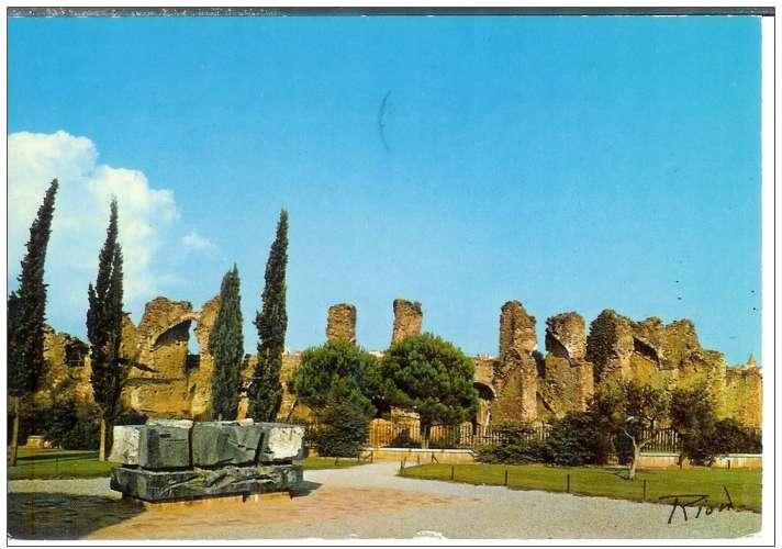 Cpsm 83 Fréjus , les arênes romaines , voyagée 1986