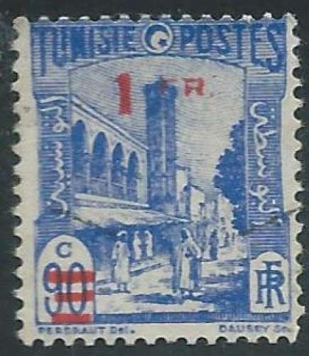 Tunisie - Protectorat Français - Y&T 0225 (o) - Mosquée Halfaouine -