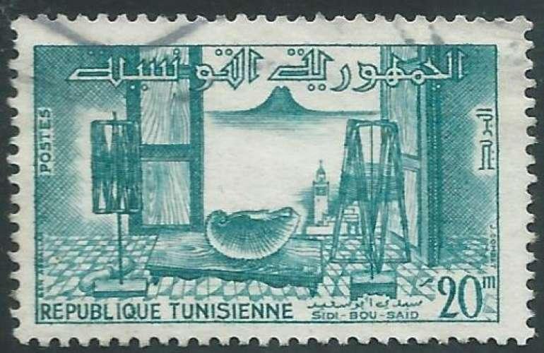 Tunisie - Y&T 0482 (o)  - Sidi-Bou-Saïd -
