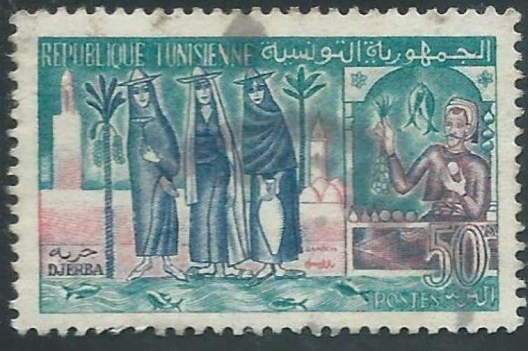 Tunisie - Y&T 0488 (o)  - Djerba -