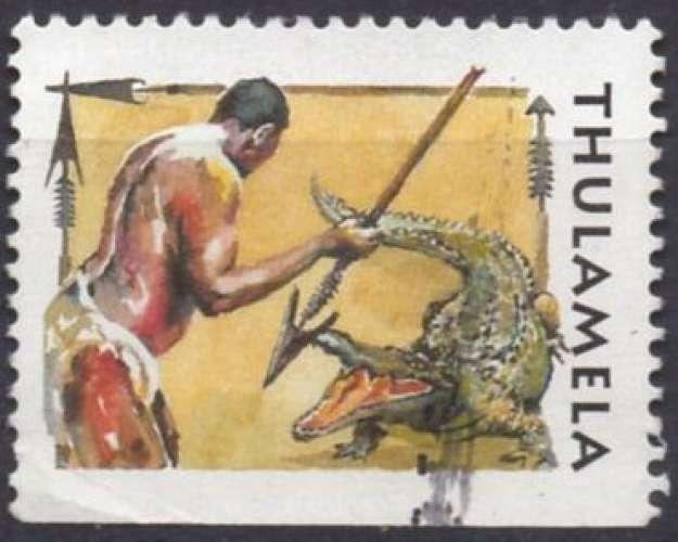 C222 - Y&T n° 623/626 - Vignette provenant du carnet - Afrique du Sud