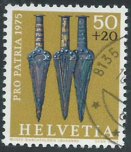 Suisse - Y&T 0985 (o) - Trésors archéologiques -