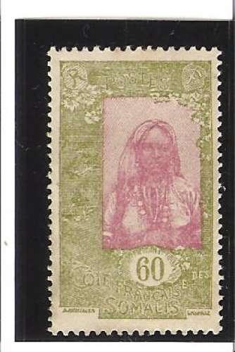 COTE DES SOMALIS  N° 128 *