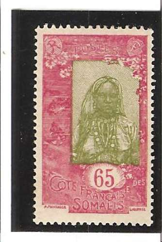 COTE DES SOMALIS  N° 129 *
